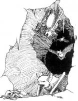 """Веспертил из мира Ведьмака. Рисунок к проекту """"Wiedźmin: Gra Wyobraźni"""""""