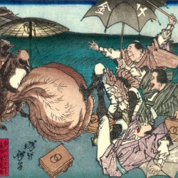 A woodblock print by Yoshitoshi, created in 1881