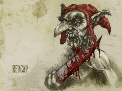 Красная шапка. Рисунок Франсиско Варгаса