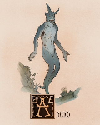 "Адаро. Иллюстрация Натана Андерсона (Nathan J. Anderson, ""Deimos-Remus"")"