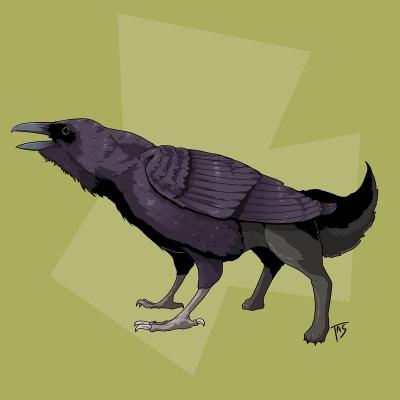 Вальравн. Иллюстрация Трэйси Шепарда
