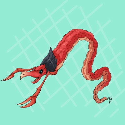 Амикири. Иллюстрация Трэйси Шепарда