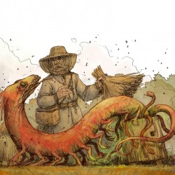 Aitwar ze Żmudzi (Айтварас литовский). Иллюстрация Павла Зыха (Paweł Zych)