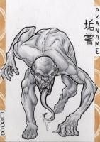 Аканамэ. Иллюстрация Лукаса Перейры