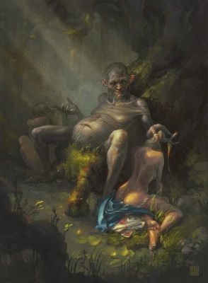 Баламутень. Иллюстрация Александра Хаде