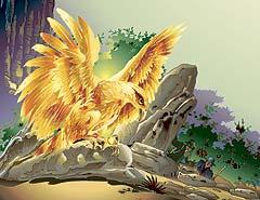 El Alicanto. Чилийская жар-птица