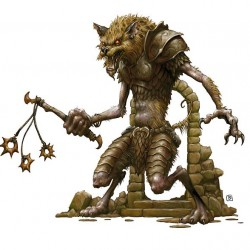Yeenoghu, demon prince of gnolls (концепт-арт 3rd: BoVD)