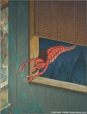 Амикири. Иллюстрация Мэтью Мэйера
