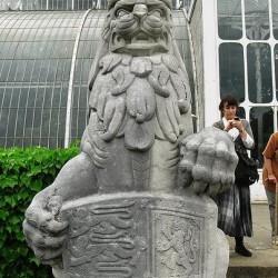 Английский лев. Скульптурное изображение.