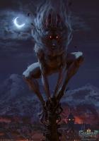 """Агуара: истинный облик. Иллюстрация Анны Подедворной к ККИ """"Gwent: The Witcher Card Game"""""""