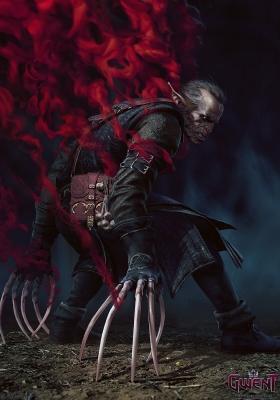 """Высший вампир Регис. Иллюстрация Анны Подедворной к ККИ """"Gwent: The Witcher Card Game"""""""
