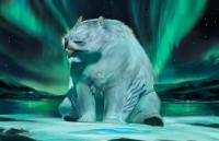 Снежный совомедведь. Иллюстрация Эйприл Прайм