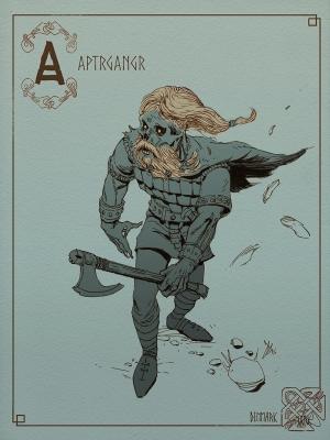 Драуг. Иллюстрация Томаса Денмарка
