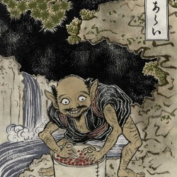 "Адзуки-арай. Иллюстрация Юко Шимизу для проекта ""Beware of the Yokai!"" от Discovery Channel"