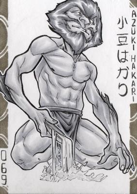 Адзуки-хакари. Иллюстрация Лукаса Перейры