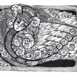 Гамаюн. Иллюстрация Ирины Моховой