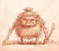 Ягодная баба (Baba jagodowa). Иллюстрация Павла Зыха (Paweł Zych)