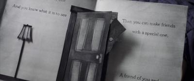 """Книга о Бабадуке. Кадр из фильма """"Бабадук"""" (""""The Babadook"""", 2014)"""