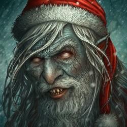 Плохой Санта. Иллюстрация Керема Бийта