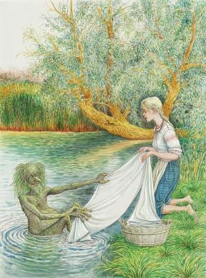 Баламутень. Иллюстрация Валерия Славука
