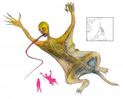 """Бал-бал. Иллюстрация с сайта """"A Book of Creatures"""""""