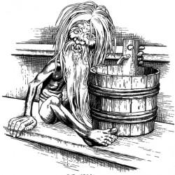 Банник. Рисунок И.Билибина