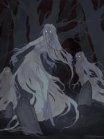 Банши. Иллюстрация Ксении Свинцовой