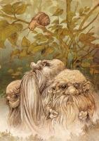Barsztuki i Markopoli (Барздуки и маркополи). Иллюстрация Витольда Варгаса (Witold Vargas)