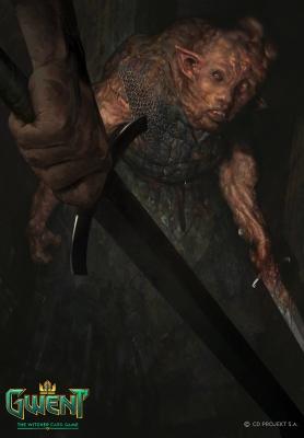 """Допплер. Иллюстрация Бартоломея Гавела к ККИ """"Gwent: The Witcher Card Game"""""""