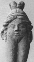 Баубо. Терракотовая статуэтка из Пирены (Малая Азия). V в. до н.э.