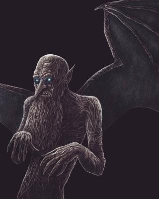 Хапун. Рисунок Артура Басака