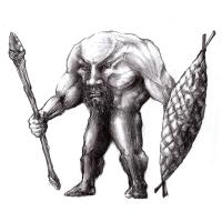Блемий. Рисунок Евгения Кота