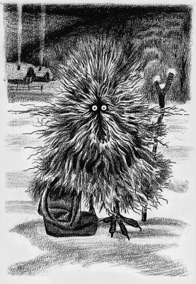 Бобо. Рисунок Андрея Алёшкина