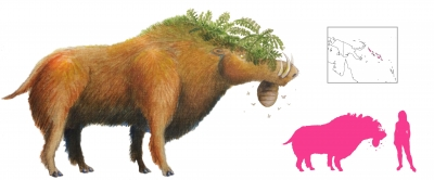 """Боонгурунгуру. Иллюстрация с сайта """"A Book of Creatures"""""""