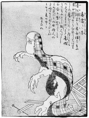 Бороборо-тон. Иллюстрация Ториямы Сэкиэна