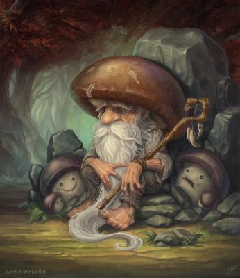 Боровичок. Иллюстрация Klaher Baklaher