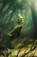 Зеленый дуэнде. Иллюстрация Брайена Валезы