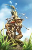 Нуно-са-пунсо. Иллюстрация Брайена Валезы