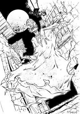 Бруха. Иллюстрация Дани Мендозы