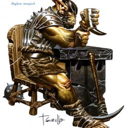Багбир. Иллюстрация Томаса Джиорелло
