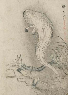 Бурубуру. Цветная копия Набэты Гёкуэя с рисунка Ториямы Сэкиэна