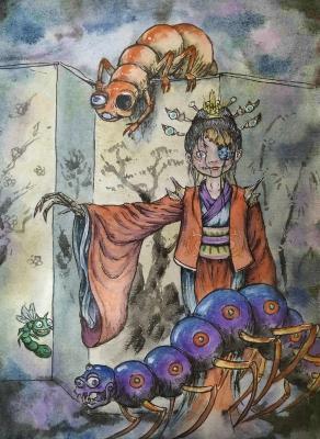 Бёбу-нодзоки. Иллюстрация Хуаши Хао Юань