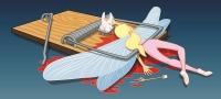 Зубная фея. Рисунок Ли Дэниелса