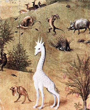 Камелопард с картины Иеронима Босха