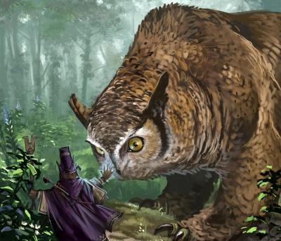 Совомедведь. Иллюстрация Бэна Вуттена