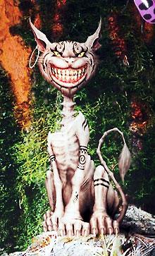 "Чеширский кот из игры ""Alice in Wonderland"""