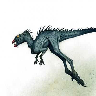 Чупакабра. Иллюстрация Юхана Эгеркранса