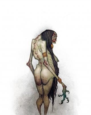 Чурел. Иллюстрация Юхана Эгеркранса