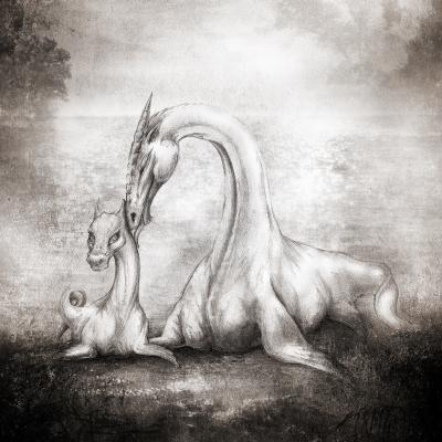Лепельские цмоки. Рисунок Евгения Кота