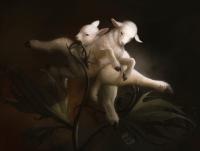 Борамцы-близнецы. Иллюстрация Елены Самойловой (Kuroi) и Александры Мельниковой